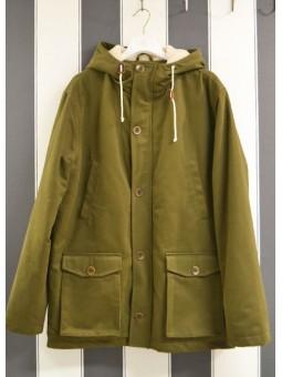 Abrigo verde OLOW