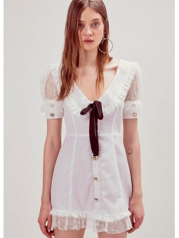 Vestido blanco Royale For love and lemons