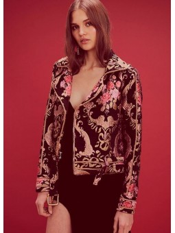 Chaqueta brocado For love and lemons