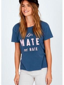 Camiseta azul Amuse Society