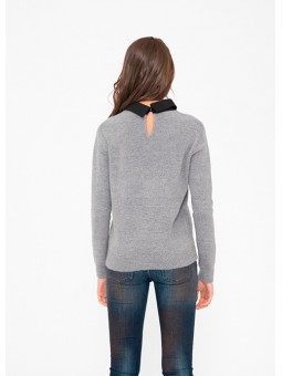 Jersey gris lazo Silvian Heach