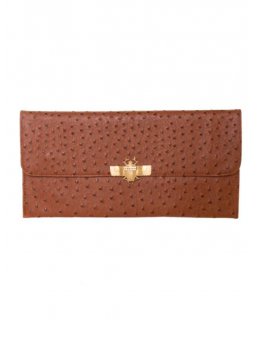 Clutch Puelche marrón Mibuh