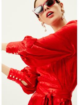 NARCISO Vestido wrap midi – Mioh