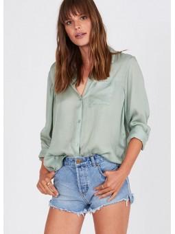 Camisa Cuba Libre verde – Amuse Society
