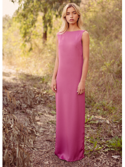 Vestido crystal rosa – Cherubina