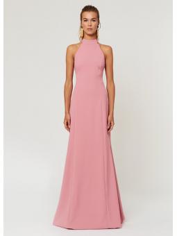 Vestido Mina rosa – La Croixé