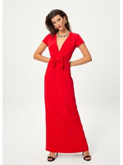 LIRIO Vestido rojo cut out – Mioh