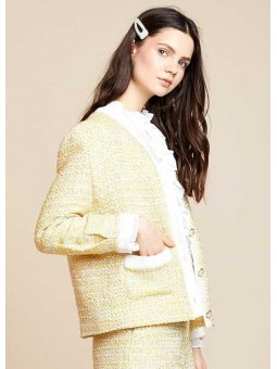Chaqueta tweed amarilla – Sister Jane