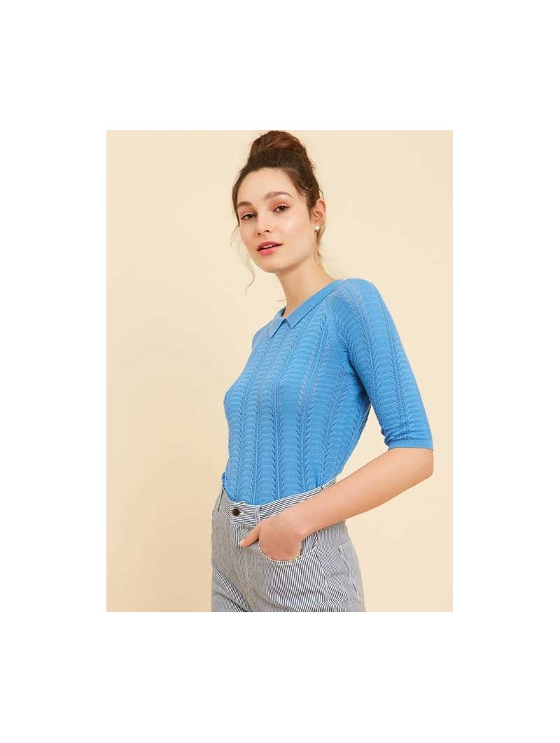 Polo Max azul – Marie Sixtine