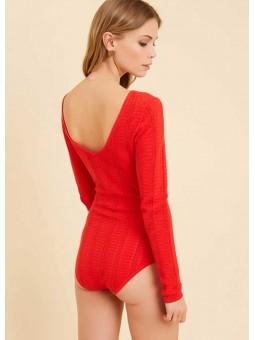 Body Abby rojo – Marie Sixtine