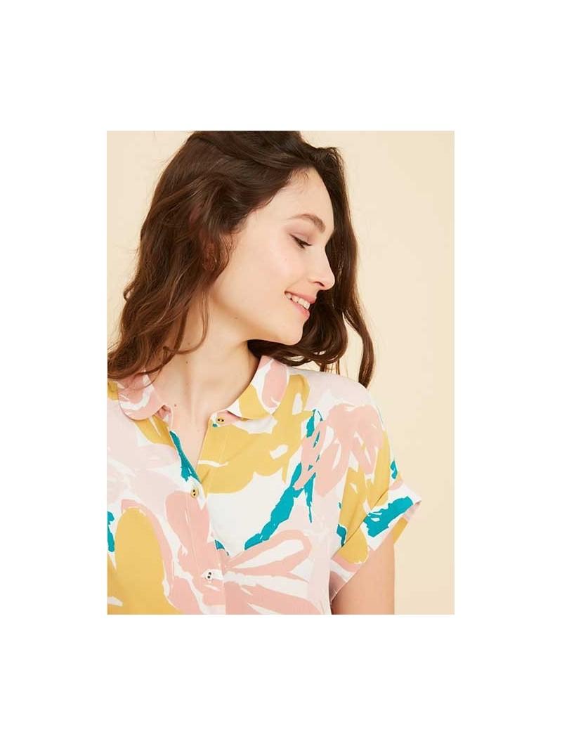 Blusa Helene floral – Marie Sixtine