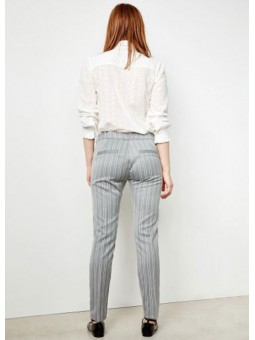 Pantalones Lizzy gris – Reiko Jeans