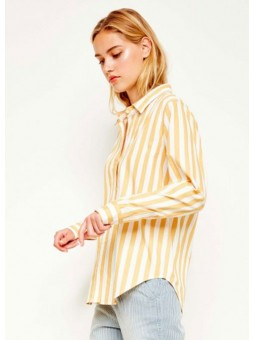 Camisa Carlo amarillo – Reiko Jeans