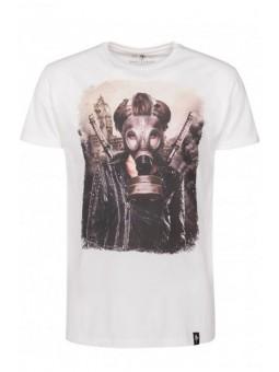 Camiseta blanca máscara Dirty Velvet