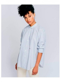 Camisa rayas azul y blanca Bellerose