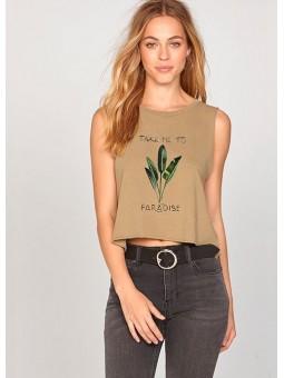 Camiseta de tirantes Take me to Paradise de Amuse Society