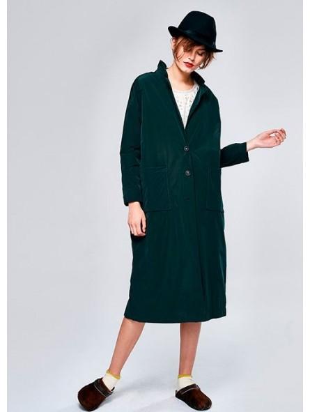 Abrigo largo impremeable
