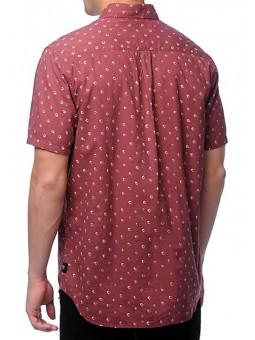Camisa estampada granate Roark Revival
