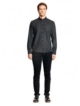 Camisa gris oscuro Makia