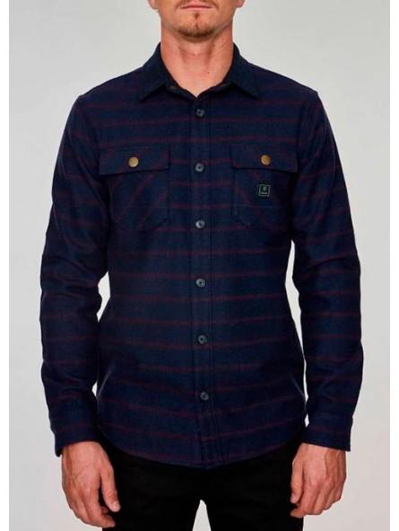Camisa de franela de cuadros Roark Revival
