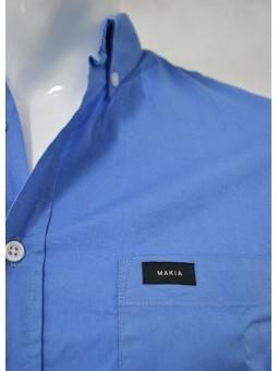 Camisa azul de Makia