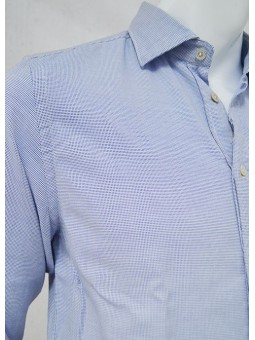 Camisa cuadros azules y blancos Koike Barcelona