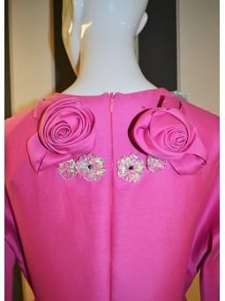 Vestido rosa con detalles The 2nd skin Co