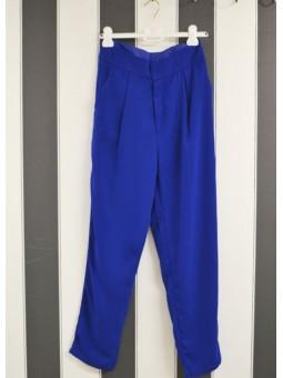 Pantalón azul eléctrico Art love
